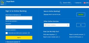 How to Enroll for RBC Bank Credit Card login