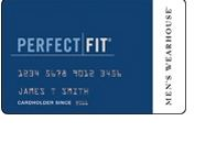 Men's Wearhouse Perfect Fit Credit Card logo
